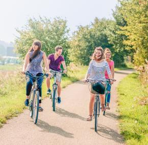 Enjoy a bike ride in the Condroz-Famenne