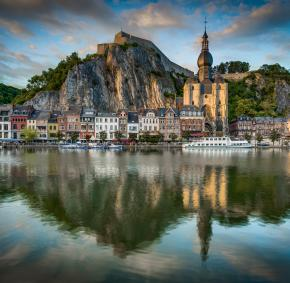 Dinant - Meuse - citadel - Collegiate church Notre-Dame