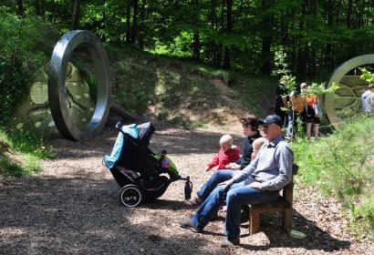 Der Park Chlorophylle - Waldpark - Freizeit