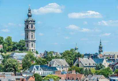 Beffroi de Mons - Mons - The-St-Waudru's-collegiate-church - The-Belfry