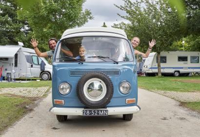 Camping - Parc - La Clusure - camionette - Motorhome