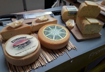 Fromagerie du Bairsoû à Trois-Ponts, dans la Haute Ardenne