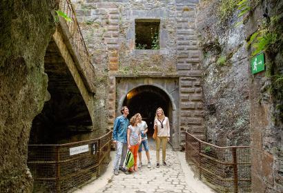 Bouillon - Chateau Fort - fortification - vestige - féodal - ardenne