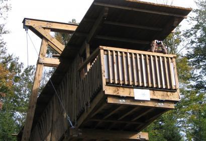 Aires de vision en forêts de Nassogne - Wallonie Insolite
