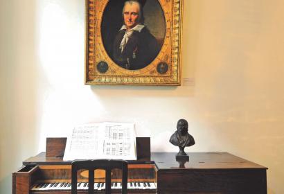 Maison natale de Grétry - Peintures - miniatures - sculptures - gravures - objets personnels