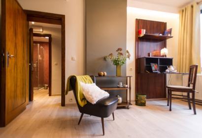Chambres d'hôtes 76tour à Charleroi vue de la chambre