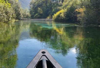Wallonie Terre d' Eau - canoë - lac