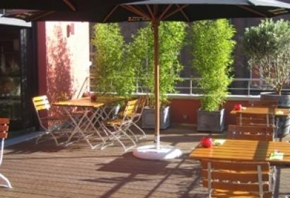 Appart-hôtel Le Mayence - Vue de la terrasse