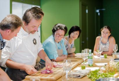 Les secrets du chef cours de cuisine