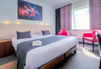 Vue de la chambre Hotel & Aparthotel Casteau Resort Mons