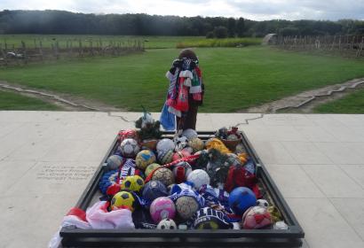 Chemins du Souvenir de 14-18 à Comines commémoration