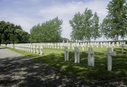 Cimetière - militaire - Belle Motte