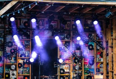 Festival - stage - light - decoration