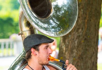 Festival - Jazz - Trompette - parc