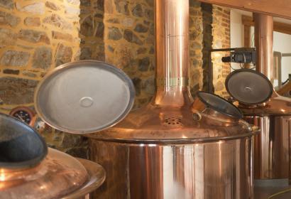 Brasserie de Bellevaux tank