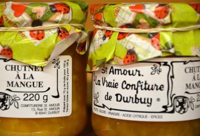 Confiturerie artisanale Saint-Amour, épicerie du terroir à Durbuy