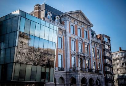 Théatre - Liège - façade extérieur - Wallonie insolite