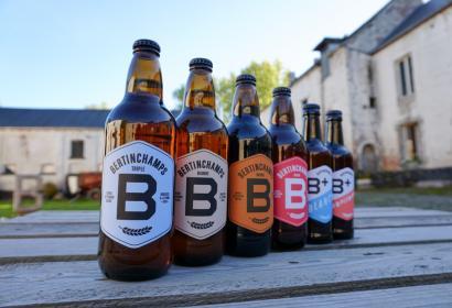 Gamme des bières de la brasserie Bertinchamps