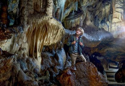 Grottes de Han - Han-sur-Lesse - enfant - province de Namur