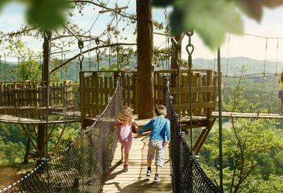 Canopé - domaine des Grottes de Han - Wallonie insolite
