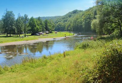 camping en Wallonie - camp - campement - bivouac - aire touristique - nature - camping d'Houlifontaine