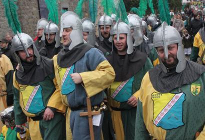 Le Carnaval du Dragon - Festivités carnavalesques - les Chevaliers d'Emines