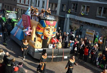 Carnaval de La Calamine, festivités du Lundi des Roses (Rosenmontag)