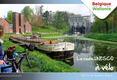 Route - Unesco - vélo - Wallonie