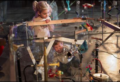 BPS22 aux enfants, atelier Ludopia Lab