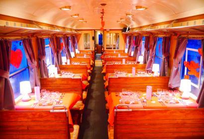 Train de Saint-Valentin au Chemin de Fer à Vapeur des 3 Vallées