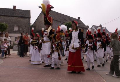 Marche Folklorique Saint-Fiacre à Tarcienne