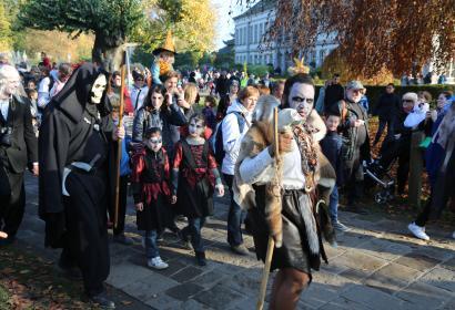 Halloween à Pairi Daiza