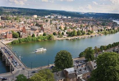 Croisière fluviale Citadelle de Namur