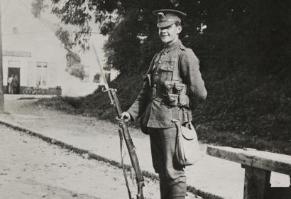 Private Carter - 22 August 1914