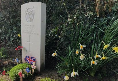 Private - George Edwin Ellison - solider - british - last soldier to die in WWI
