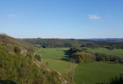 Rando cyclo La Magnifique - Rochefort - Vue du paysage