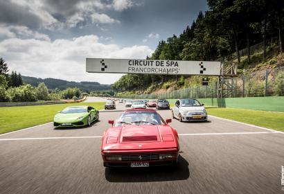 SpaItalia, les voitures et motos italiennes s'invitent à Spa-Francorchamps