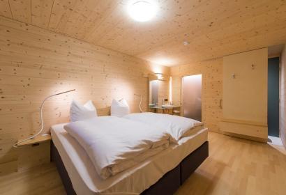 Une chambre de l'hôtel Sleepwood à Eupen