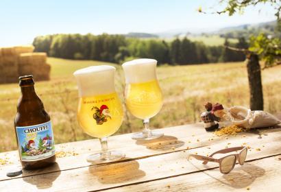 Bière Chouffe Soleil de la brasserie d'Achouffe