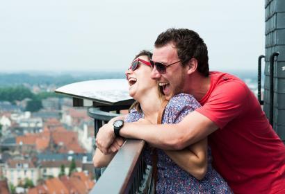 Couple - Tournai - point de vue