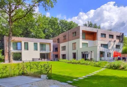 établissement passif - design - Mons - contemporain - bois des Dames - Calme absolu - chambre - confort - clef verte