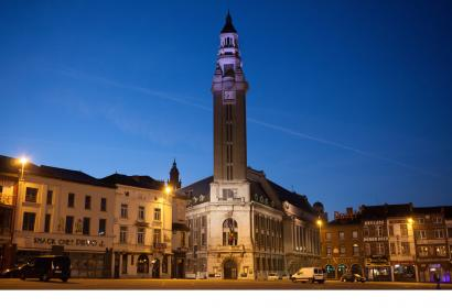 The Belfry of Charleroi, a UNESCO site