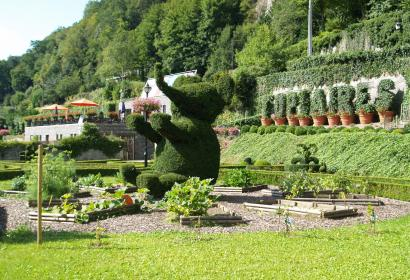 The Parc des Topiaires, a fascinating garden in Durbuy
