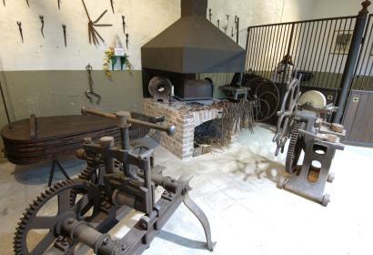 Musée du Cheval à Spa salle de forge