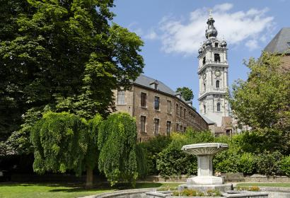 Mons Belfry and its park