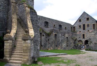 Bouillon - Château-fort - architecture
