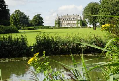 château - la Hulpe - verdure - panorama - paysage