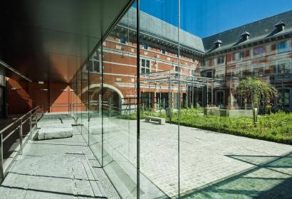 Liège - Grand Curtius - coure intérieure