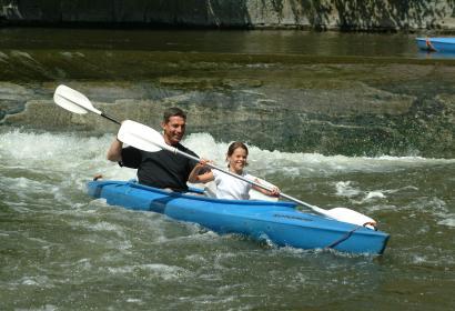 Descente de la Lesse kayak
