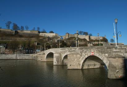 Citadelle de Namur - pont de Jambes